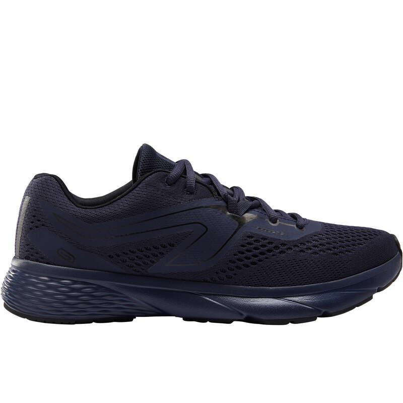 REGULAR MEN JOGGING SHOES Running - RUN SUPPORT M DARK BLUE KALENJI - Running Footwear