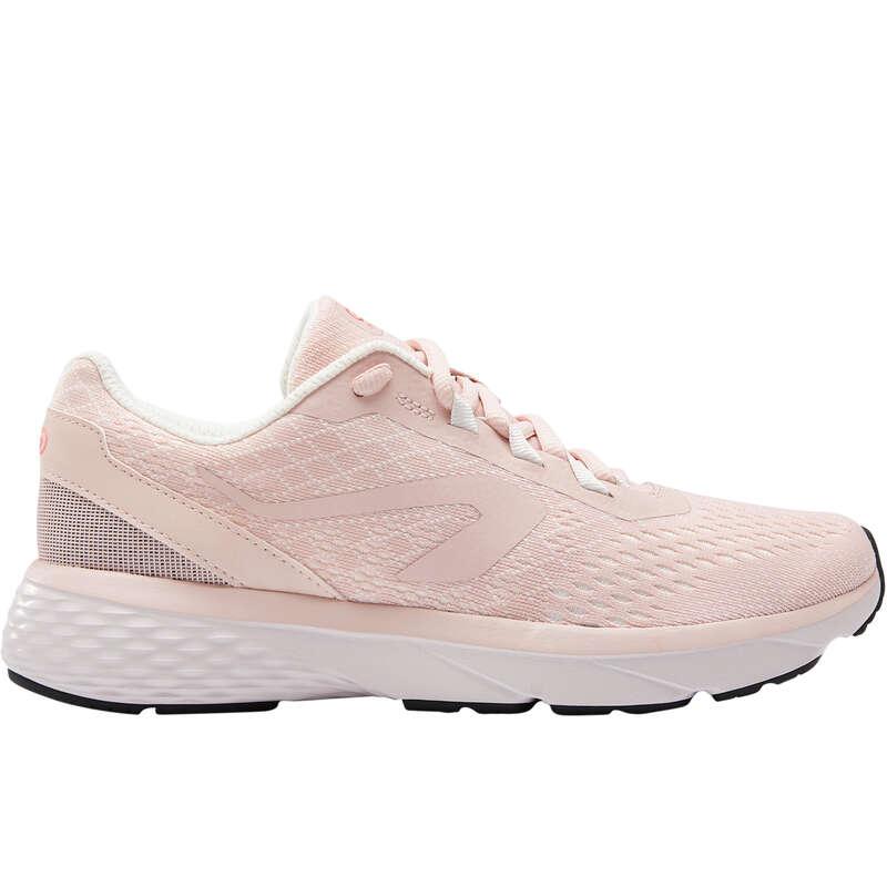 SCARPE DONNA RUNNING REGOLARE Running, Trail, Atletica - Scarpe donna RUN SUPPORT rosa KALENJI - Scarpe Running