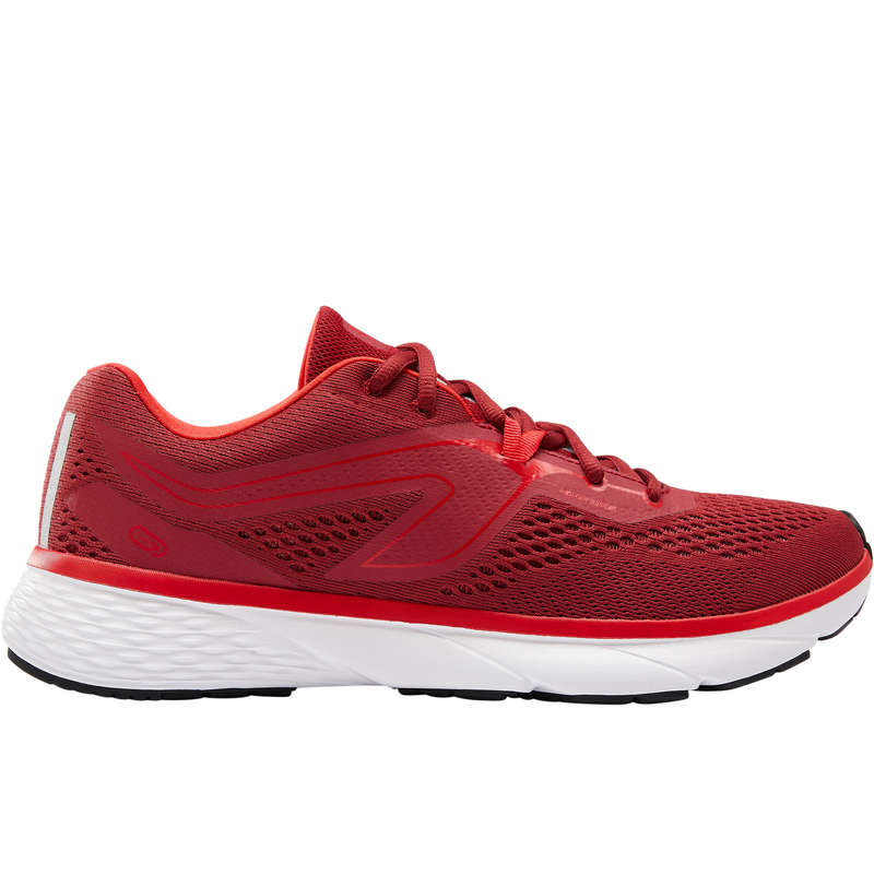 SKOR HERR JOGGING Herrskor - Löparsko RUN SUPPORT röd KALENJI - Typ av sko