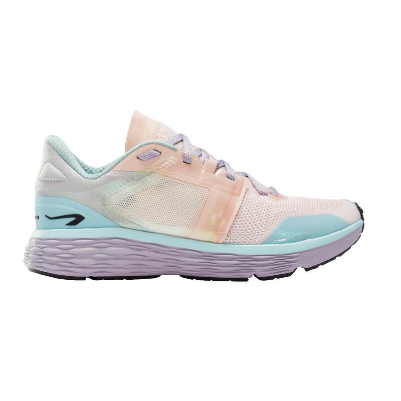 Scarpe running donna RUN COMFORT mix colori pastello