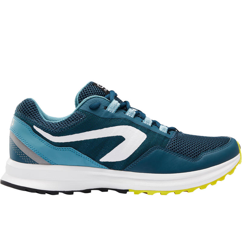 Zapatillas Running Kalenji Run Active Grip Hombre Verde/Azul