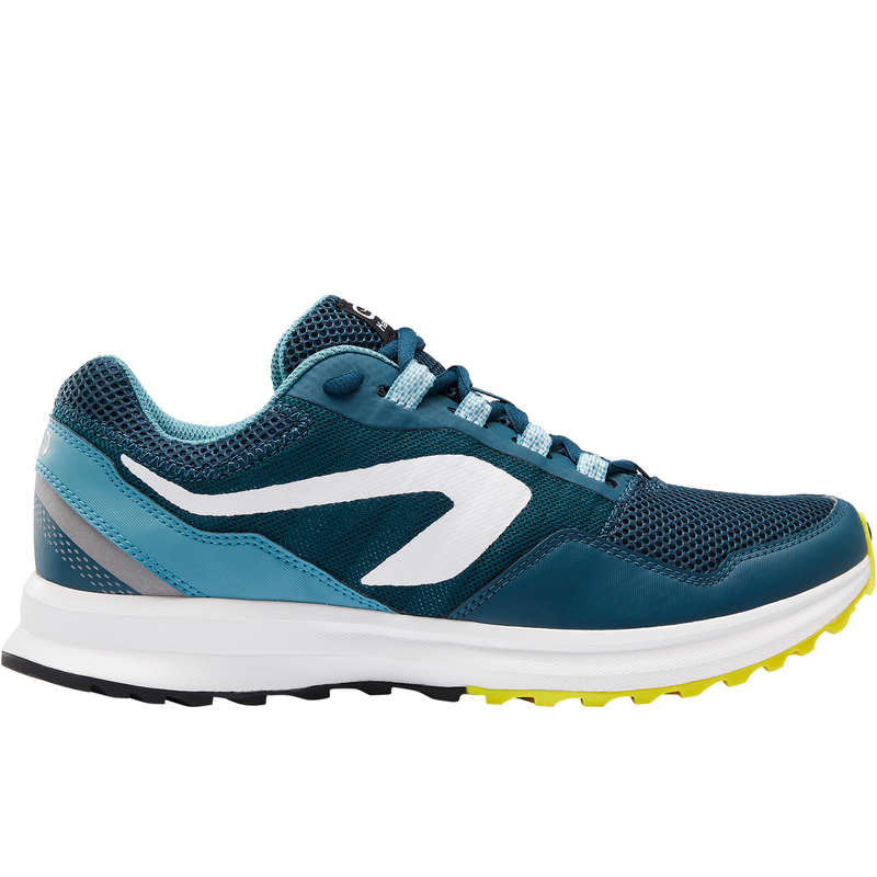 OCCASIONAL MEN JOG SHOES Running - ACTIVE GRIP SHOES M GREEN KALENJI - Running Footwear