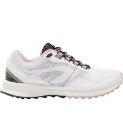 WOMEN'S RUNNING SHOES - ACTIVE GRIP - WHITE/PINK