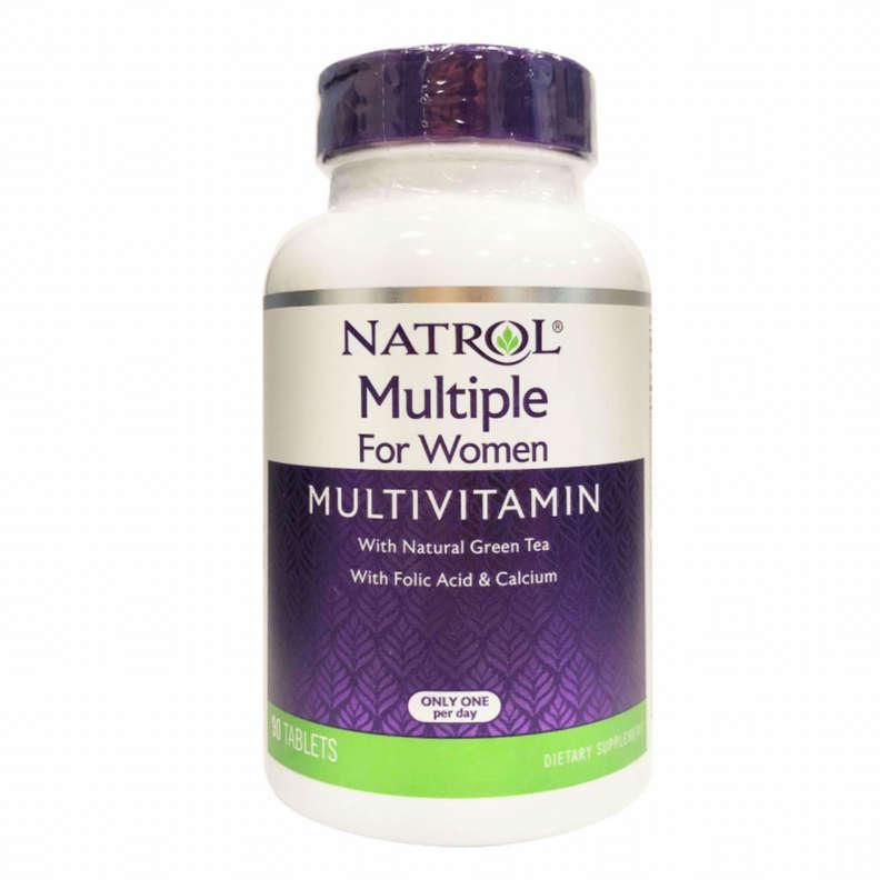 ПРОТЕИНЫ, БИОЛОГИЧ АКТИВ ДОБАВКИ Спортивное питание - RU Natrol Multivitamin Women NATROL - Спортивное питание