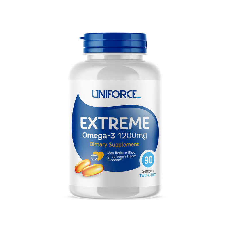ПРОТЕИНЫ, БИОЛОГИЧ АКТИВ ДОБАВКИ Спортивное питание - RU Uniforce extreme Omega-3 UNIFORCE - Спортивное питание