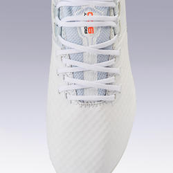 成人款混合型足球場中筒足球鞋Agility 900 Mesh MG - 白色