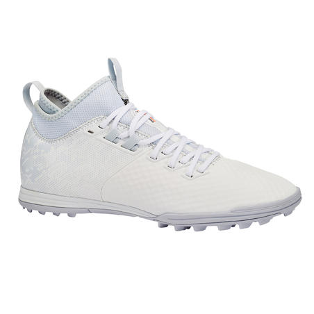 Adult Firm Ground Football Boots Agility 900 Mesh MiD TF - Grey