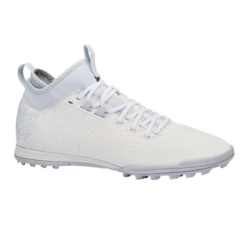 Chaussure de football adulte terrains secs Agility 900 Mesh MiD TF gris
