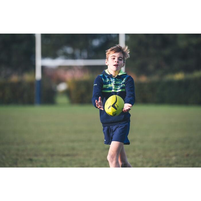 Rugbyball Einsteiger Größe 3 gelb