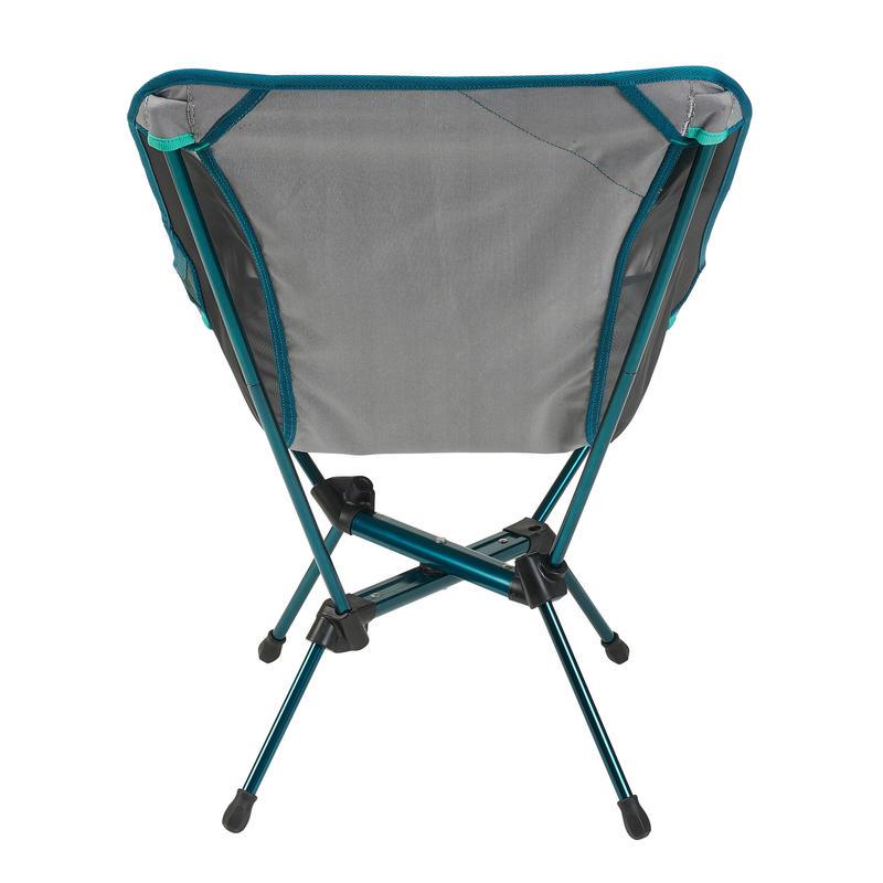 เก้าอี้พับสำหรับการตั้งแคมป์รุ่น MH500 (สีเทา)