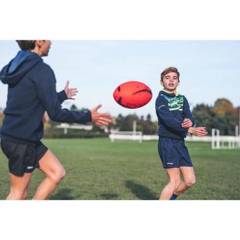 Ballon de rugby INITIATION taille 4 orange