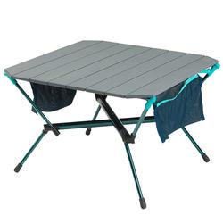 Lage vouwtafel voor op de camping MH500 blauw