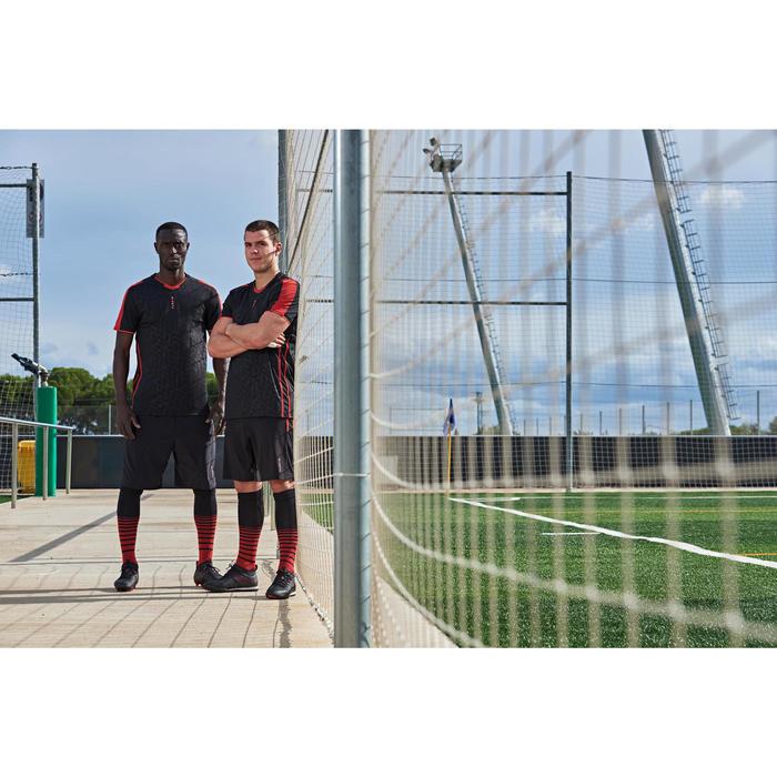 Voetbalbroekje met binnenbroek F540 TRX zwart/rood