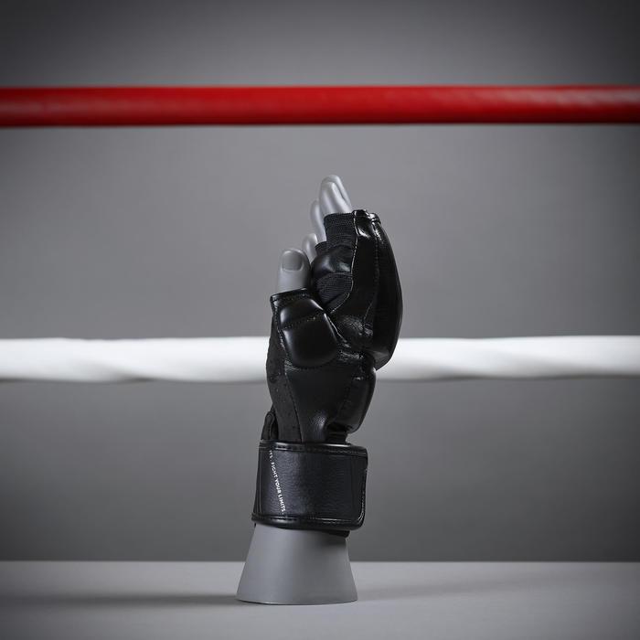 Mitaines de cardio boxing 500 noires