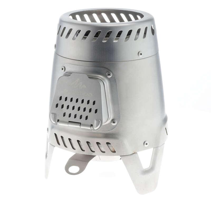 Konyhai eszközök Kemping - Fatüzelésű kályha MH500 QUECHUA - Tábori konyha