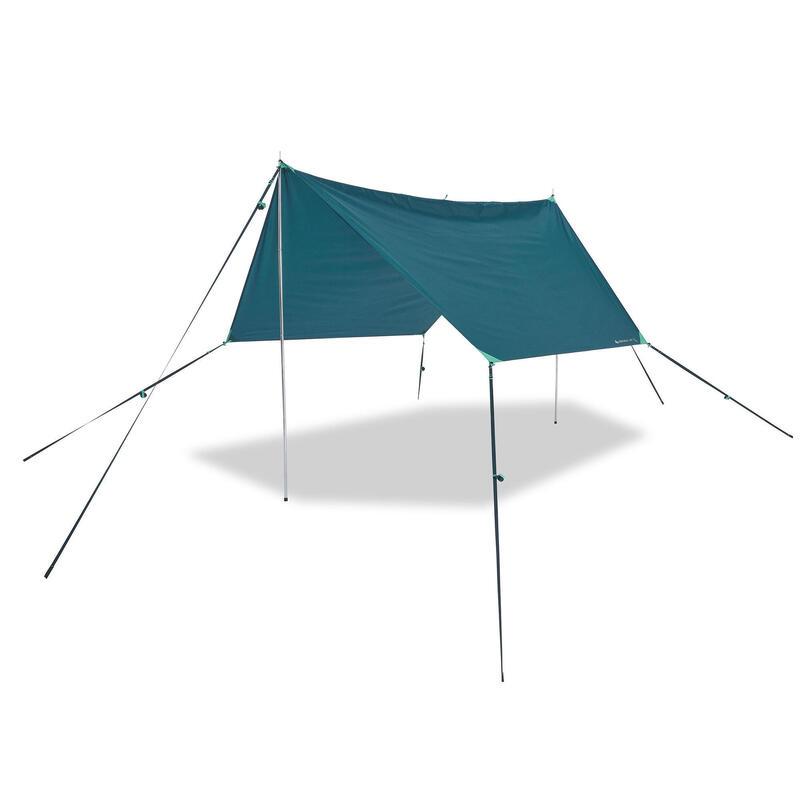 PRODUCTO OCASIÓN: Toldo Tarp Camping Impermeable Multifunción UPF30
