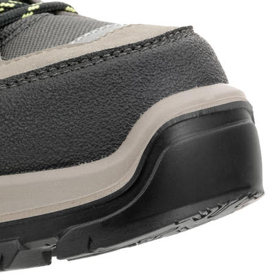 Дитячі черевики MH500 для гірського туризму, водонепроникні - Коричневі