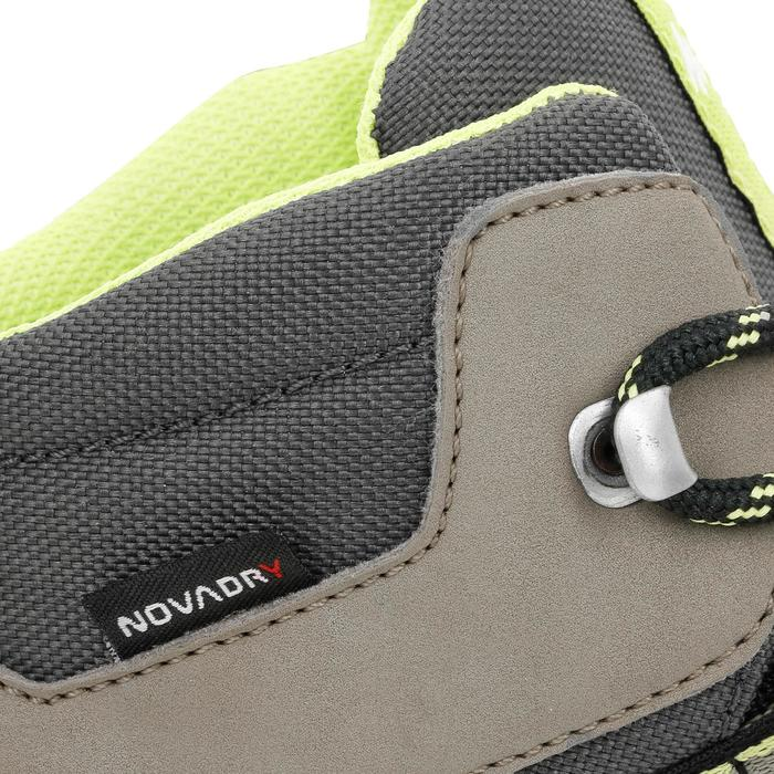 Chaussures de randonnée enfant MH500 Mid imperméable marron