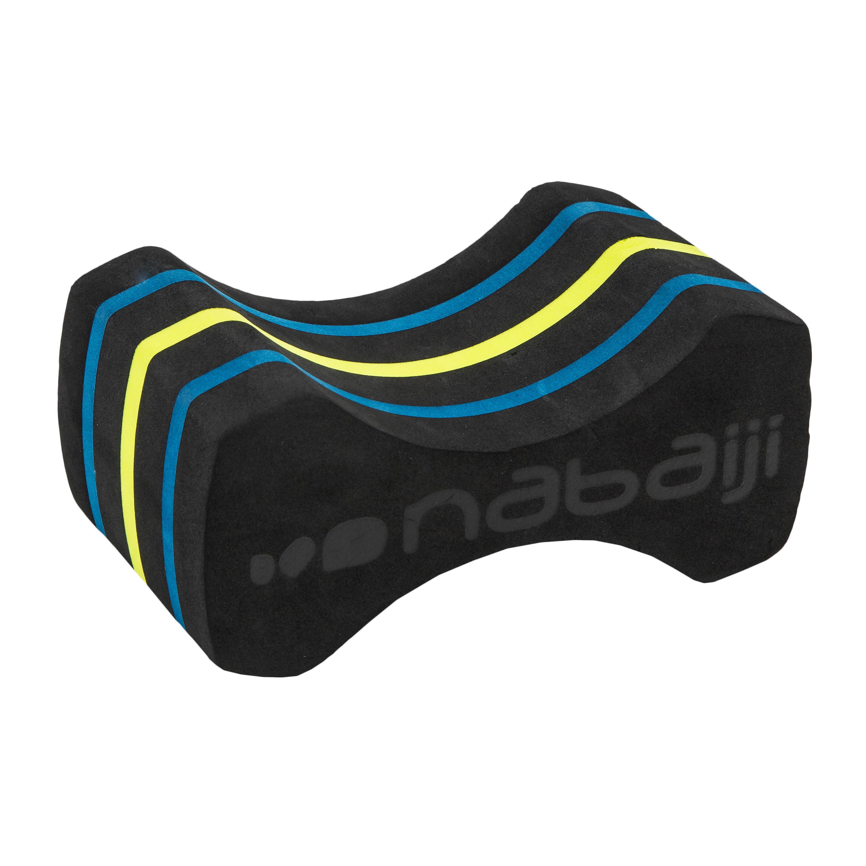 Pull buoy voor zwemmen maat m zwart/geel