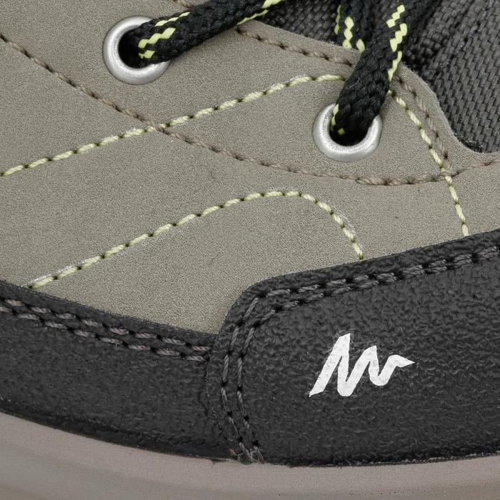 Botas de senderismo júnior MH500 Mid impermeables marrón