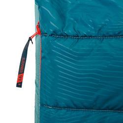 2 IN 1 SLEEPING BAG - SLEEPIN BED MH500 15°C L - BLUE