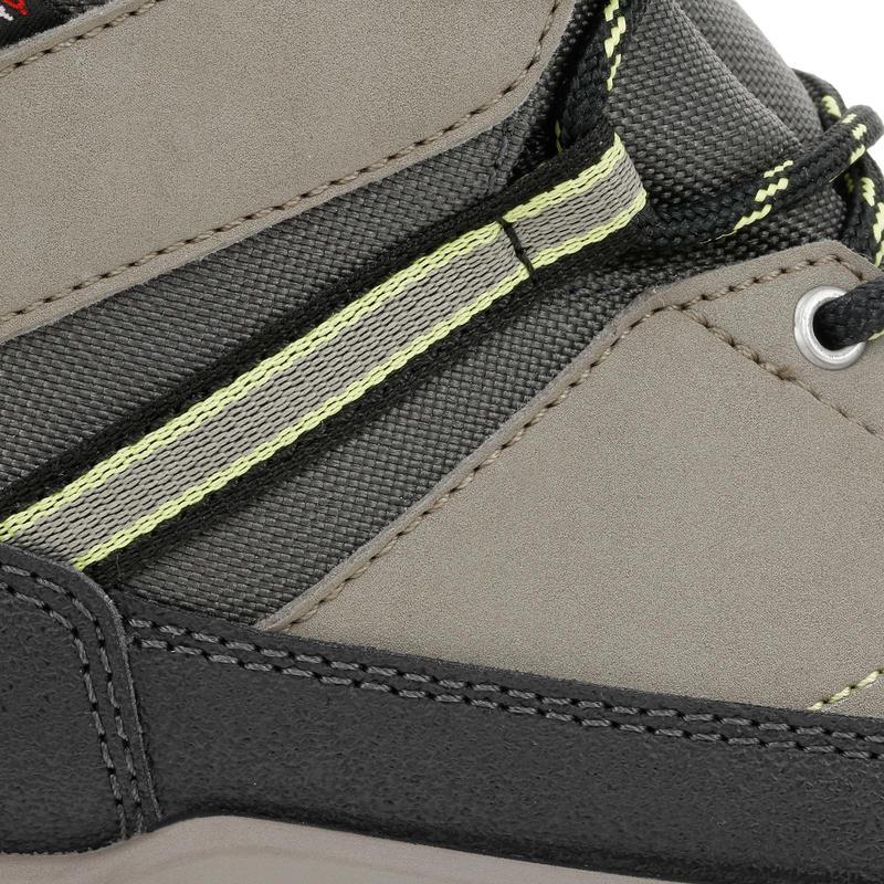 Kid's Hiking Shoes MH500 (Waterproof) - Brown