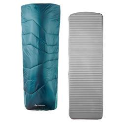 SAC DE COUCHAGE 2 EN 1 - SLEEPIN BED MH500 15°C XL
