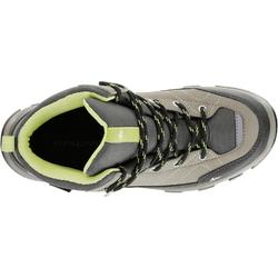 Waterdichte hoge wandelschoenen voor kinderen MH500 bruin
