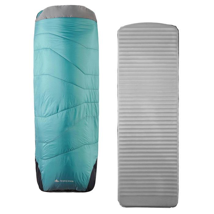 SLEEPIN BED MH500 - SAC DE COUCHAGE ET MATELAS 2 EN 1 - 5°C - L