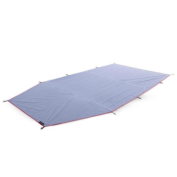 Tapis de sol léger tente - TREK 500 gris 4 personnes