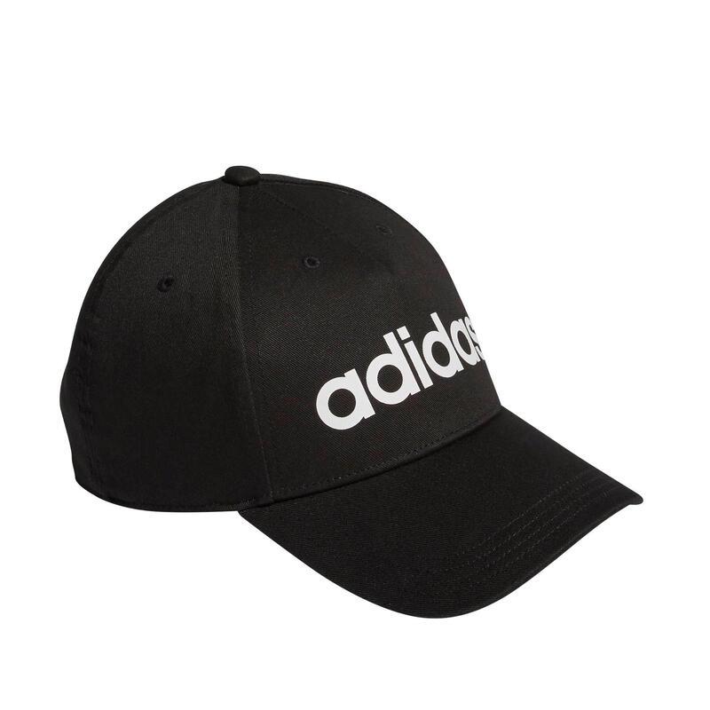 Casquette noir avec logo adidas blanc