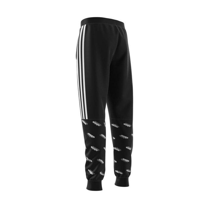 Pantalon noir garçon 3 bandes