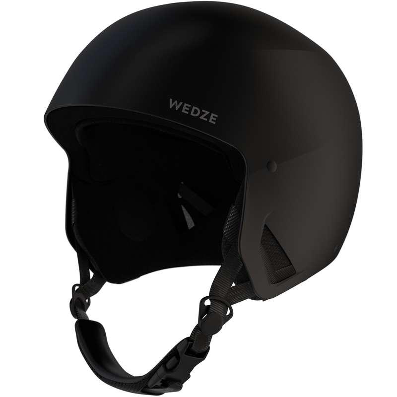 Caschi adulto Sci, Sport Invernali - Casco sci adulto HRC500 nero WEDZE - Attrezzatura sci