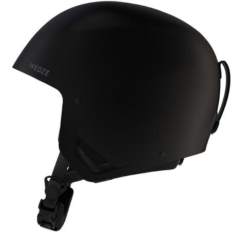 ADULT M DOWNHILL SKI HELMET HRC 500 - BLACK