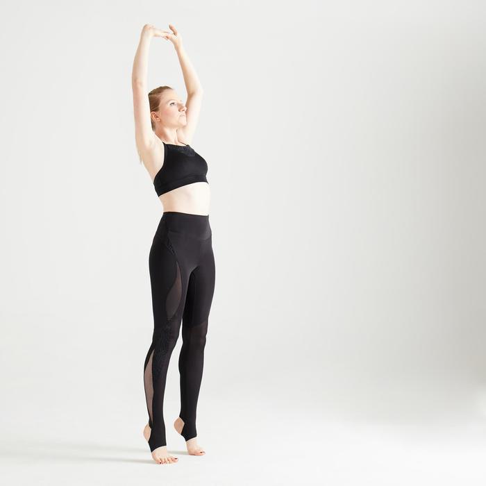 Sportbeha voor cardiofitness 120 zwart