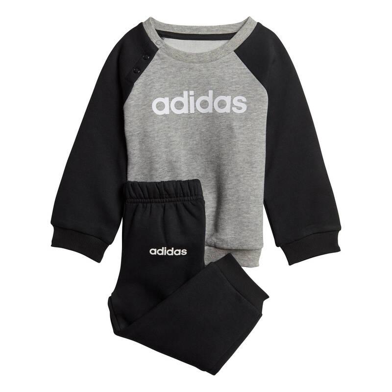 OBLEČENÍ CVIČENÍ PRO NEJMENŠÍ Cvičení pro děti - DĚTSKÁ TEPLÁKOVÁ SOUPRAVA ADIDAS - Oblečení pro děti od 1 do 6 let