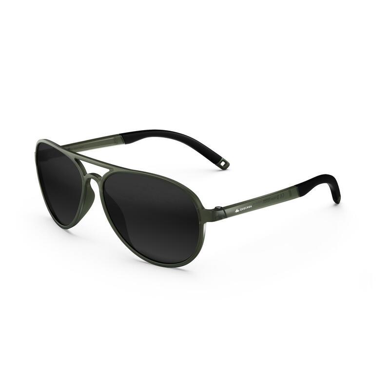 Ochelari de Soare Drumeţie Cat 3 MH120A Kaki Adulţi