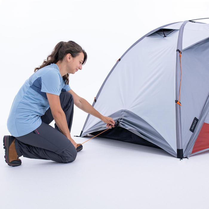 Tente dôme de trekking 3 saisons - TREK 500 Fresh & Black 2 personnes