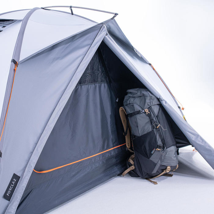 Tente dôme de trekking 3 saisons - TREK 500 Fresh & Black 3 personnes