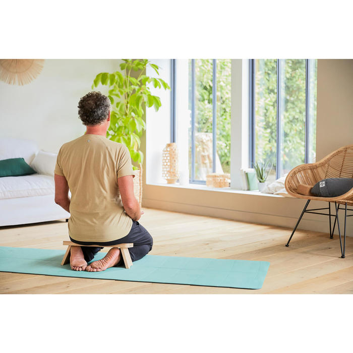 XL Gentle Yoga Mat 5 mm - Green
