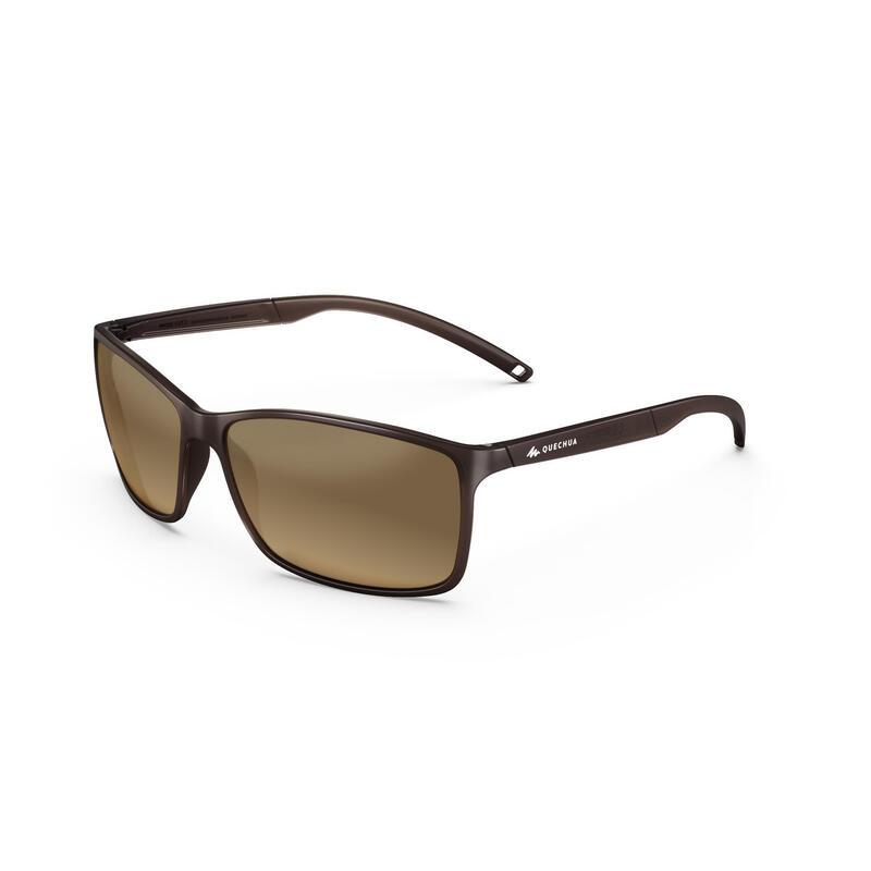 Gafas De Sol Montaña Y Trekking MH120 Categoría 4 Adulto Marrón
