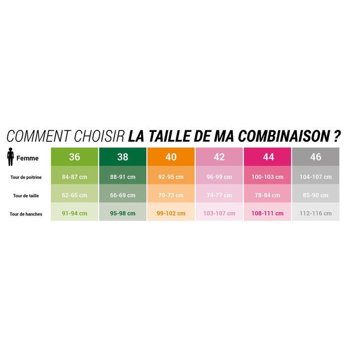 COMBINAISON NATATION EAU LIBRE NÉOPRÈNE FEMME OWS 2/2 mm GLIDESKIN