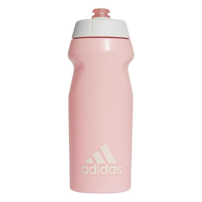 Bidon gourde Adidas rose nacré