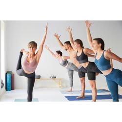 Antislip handdoek voor yoga bergenprint