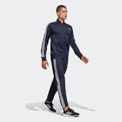 Trainingspak fitness cardiotraining voor heren Adidas marineblauw