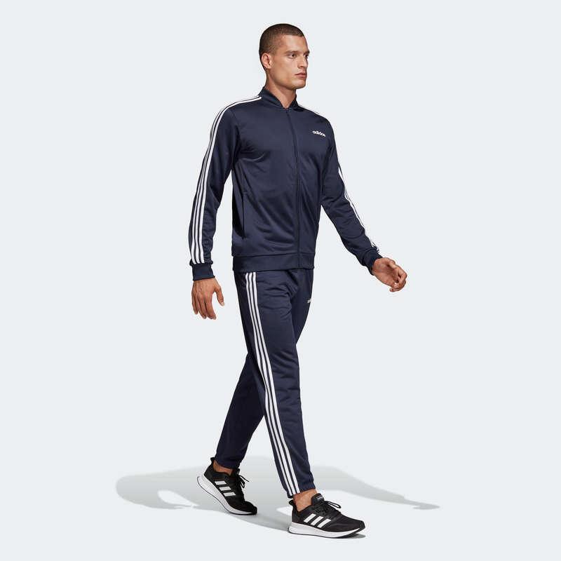 Cardio Bekleidung Herren Einsteiger Fitness - Trainingsanzug Fitness Herren ADIDAS - Fitness