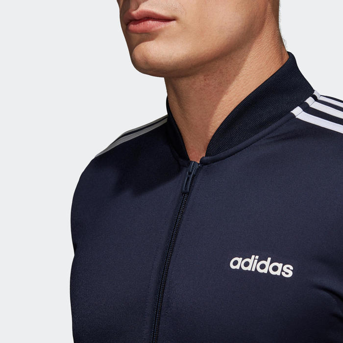 Trainingspak fitness cardiotraining voor heren Adidas marineblauw