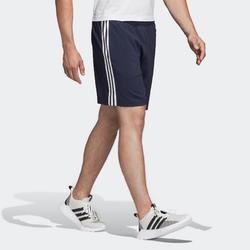 Short Adidas fitness cardio training homme bleu marine
