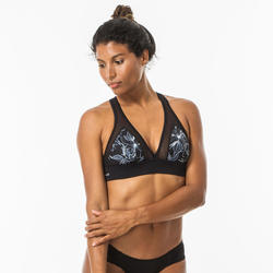 Top Bikini Surf Olaian Isa Sei Mujer Espalda Ajustable