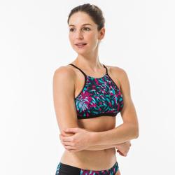 Bikinitop voor surfen Andrea Furai Marti high neck